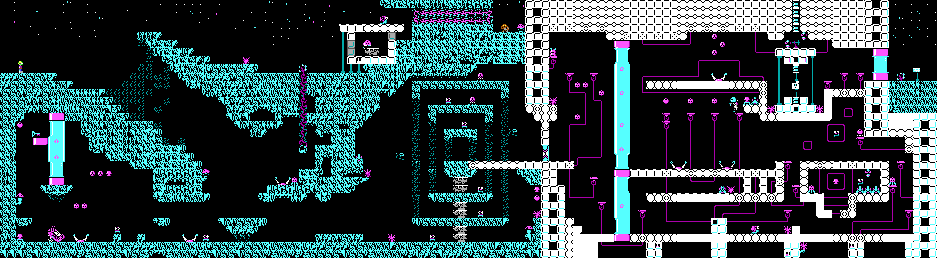 Commander Keen Confronts the Commandeered Planet - Level 04.png