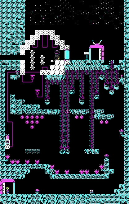Commander Keen Confronts the Commandeered Planet - Level 05.png