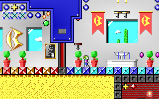 Commander Keen in the Bobrick Tower
