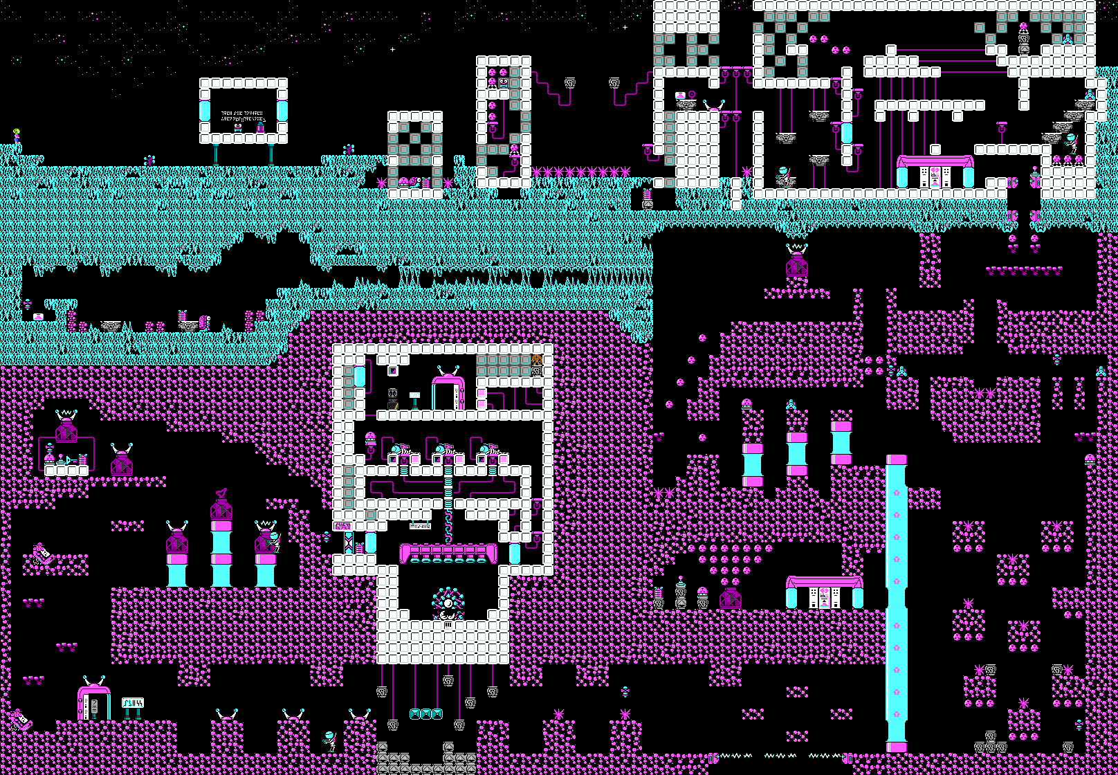 Commander Keen Confronts the Commandeered Planet - Level 14.png