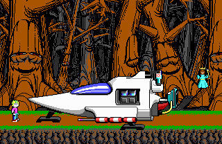 Commander Keen × Bio Menace - Level 05.png