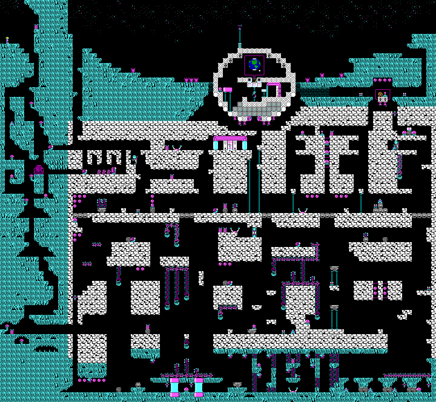 Commander Keen Confronts the Commandeered Planet - Level 08.png