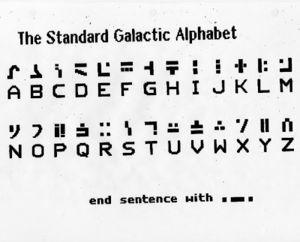 Standard Galactic Alphabet - KeenWiki