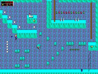 Fangame-ingame-Commander Keen 2000.png