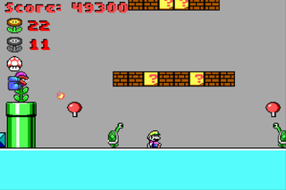 Fangame-ingame-Super Mario in Marooned on Mars.png